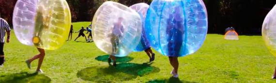Novedad: Fútbol burbuja